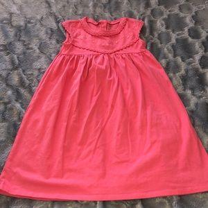 🔴 Carter's coral girls dress